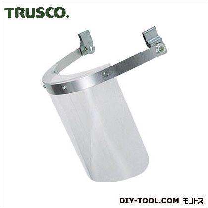 トラスコ(TRUSCO) ヘルメット取付型防災面クリア 200 x 240 x 180 mm