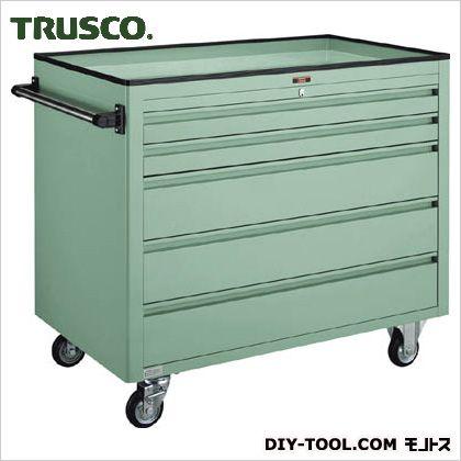 【送料無料】トラスコ(TRUSCO) BM3型キャビネットワゴン1000X600XH880浅2深3 BM3-S2L3