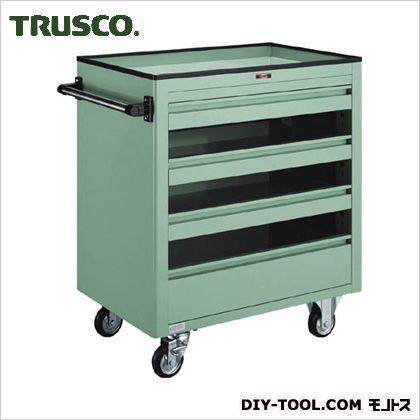 【送料無料】トラスコ(TRUSCO) BM2型キャビネットワゴン750X500XH880浅3深1 BM2-S3L1