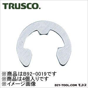 トラスコ(TRUSCO) EリングステンレスサイズE-19.04個入 138 x 52 x 27 mm 4個