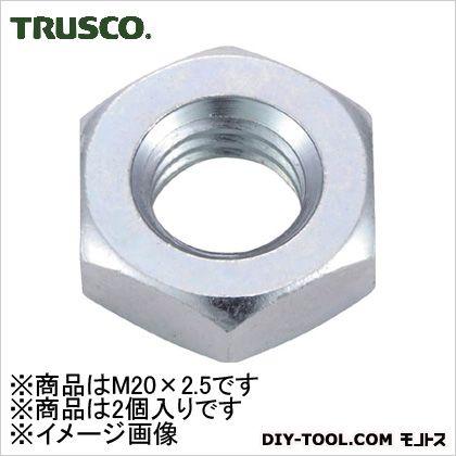 六角ナット3種三価白サイズM20X2.52個入   B756-0020 2 個