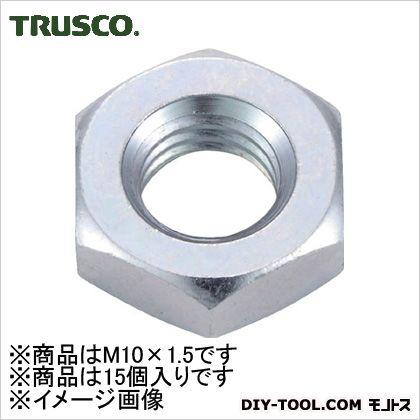 六角ナット3種三価白サイズM10X1.515個入   B756-0010 15 個