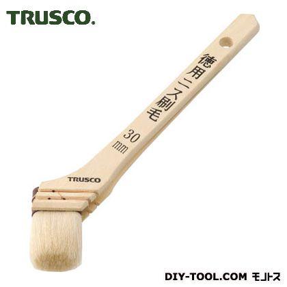 トラスコ(TRUSCO) 徳用ニス刷毛木柄10号 211 x 43 x 21 mm TPB-426