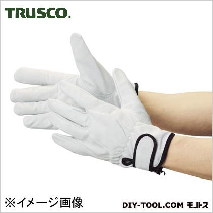 トラスコ(TRUSCO) マジック式革手袋裏地付タイプMサイズ TYK-717M