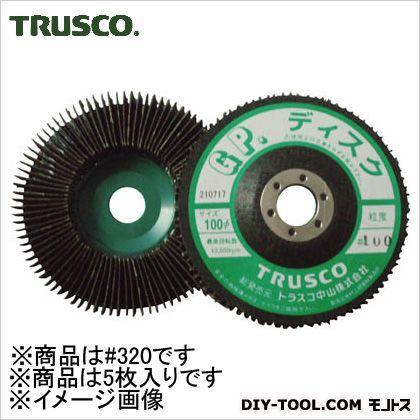 GPディスクホイール垂直植えΦ100(5枚入)320# 320  GP100 5 枚