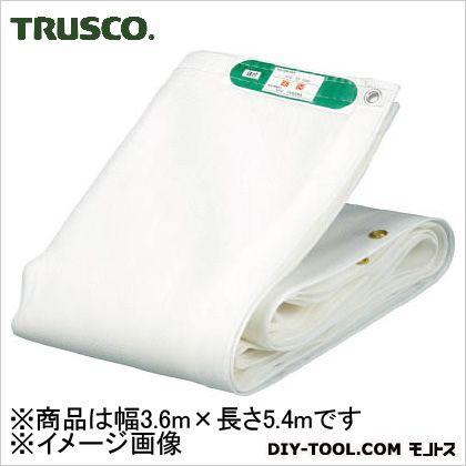 トラスコ(TRUSCO) ソフトメッシュシートα幅3.6mX長さ5.4m白 W 450 x 280 x 100 mm