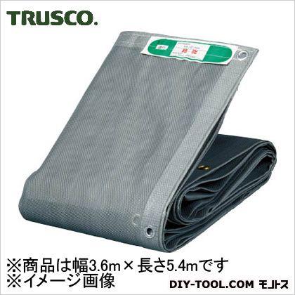 トラスコ(TRUSCO) ソフトメッシュシートα幅3.6mX長さ5.4mグレー GY 429 x 307 x 128 mm