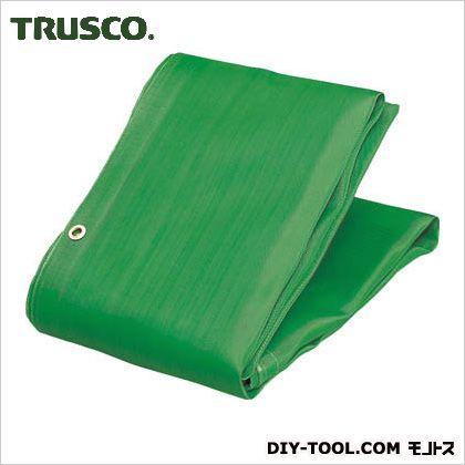 トラスコ(TRUSCO) ソフトメッシュシートα幅3.6mX長さ5.4m緑 GN 416 x 265 x 110 mm