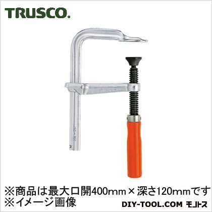 【送料無料】トラスコ(TRUSCO) Lクランプ標準型最大口開400mmX深さ120mm 500 x 185 x 30 mm GLW400