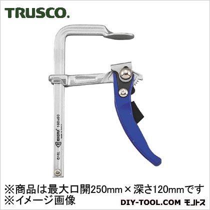 TRUSCO エホマクランプラチェット最大口開250mmX深さ120mm G-25L