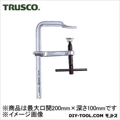 TRUSCO エホマクランプ鉄ハンドル最大口開200mmX深さ100mm G-20CS