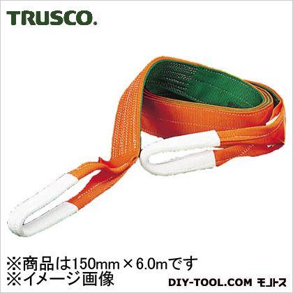 【送料無料】トラスコ(TRUSCO) ベルトスリングJIS3等級両端アイ形150mmX6.0m 530 x 130 x 165 mm G150-60