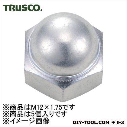 トラスコ(TRUSCO) 袋ナット三価白サイズM12X1.755個入 137 x 68 x 29 mm B739-0012 5個