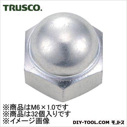 トラスコ(TRUSCO) 袋ナット三価白サイズM6X1.032個入 136 x 72 x 29 mm B739-0006 32個