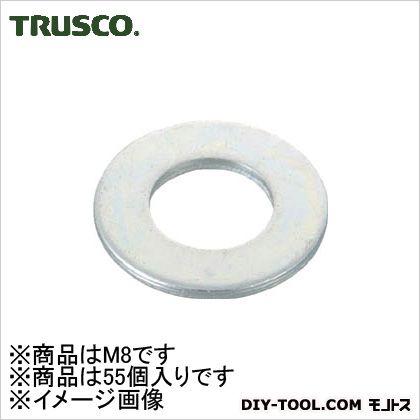 平ワッシャー三価白サイズM855個入   B726-0008 55 個