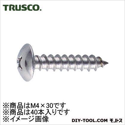トラス頭タッピングねじステンレスM4X3040本入   B43-0430 40 本