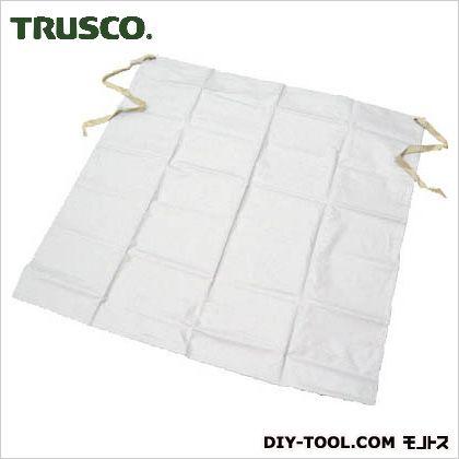 トラスコ(TRUSCO) 抗菌ビニロン前掛腰下ホワイト TVL-WK-W