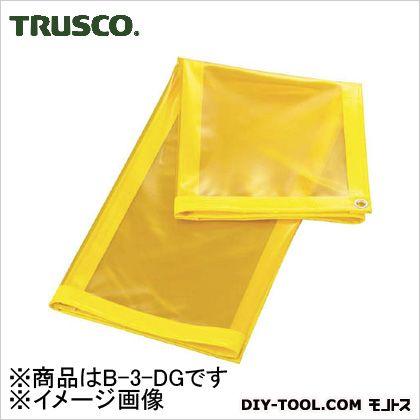 トラスコ(TRUSCO) 溶接遮光シートのみ0.35TXW970XH1970深緑 B-3-DG