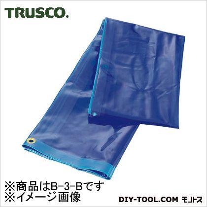 トラスコ(TRUSCO) 溶接遮光シートのみ0.35TXW970XH1970青 B-3-B