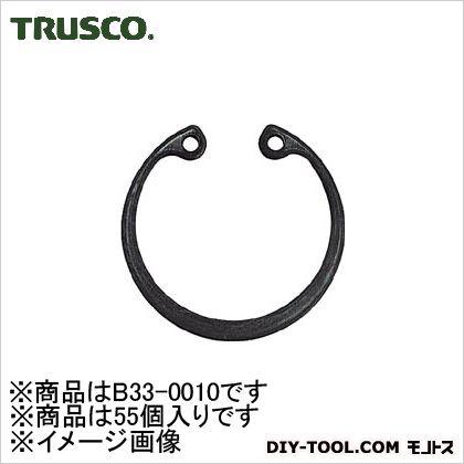 TRUSCO スナップリング穴用呼び径R-10(55個入) 140.0060.0028.00MM