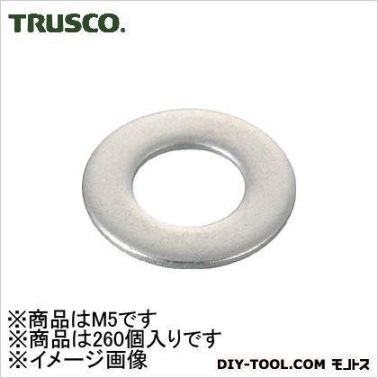 平ワッシャーステンレスサイズM5260個入   B27-0005 260 個