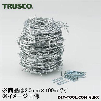 【送料無料】トラスコ(TRUSCO) 有刺鉄線1.9mmX100m 249 x 245 x 257 mm TUW20100 1