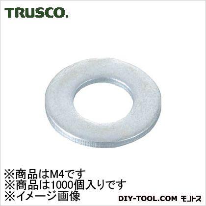 平ワッシャーユニクロムサイズM4小型1000個入   B26-0048 1000 個