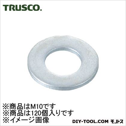 平ワッシャーユニクロムサイズM10120個入   B26-0010 120 個