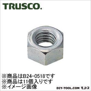 TRUSCO 六角ナット1種ユニクロムサイズW5/8X11山11個入 138.0072.0030.00MM