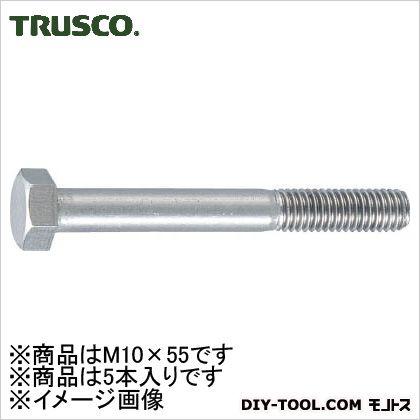 TRUSCO 六角ボルトステンレス半ネジサイズM10X555本入 134.0057.0028.00MM