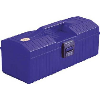 トラスコ(TRUSCO) 樹脂山型工具箱青 B 385 x 175 x 150 mm
