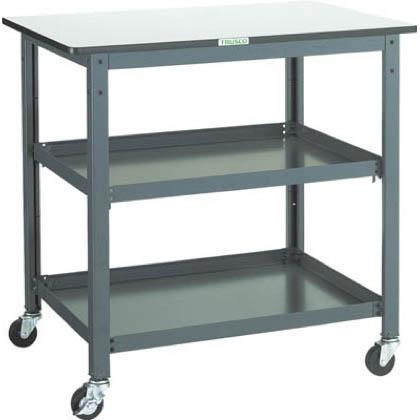 トラスコ(TRUSCO) WHT型作業台補助テーブルワゴン900X600XH900
