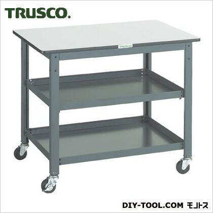 トラスコ(TRUSCO) WHT型作業台補助テーブルワゴン900X600XH740