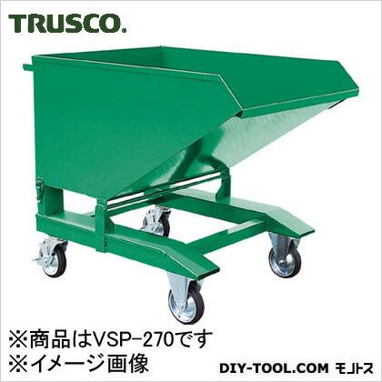 トラスコ(TRUSCO) スクラップ台車手動式270L VSP-270