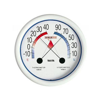 TANITA食中毒注意ゾーン付温湿度計5488   5488-NWH