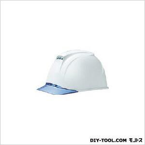 ヘルメット(透明ひさし・高通気性型)白   1830-FZ-V5-W1-J