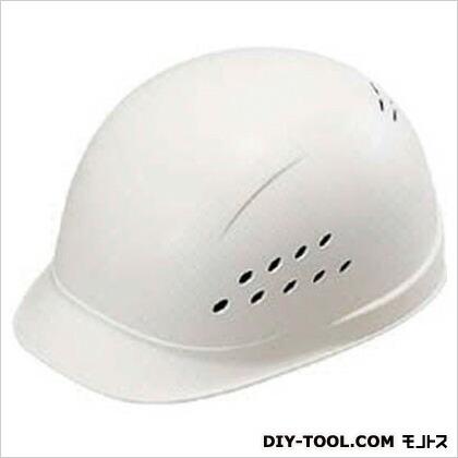 軽作業用帽パンプキャップ白   143-EPA-W8-J