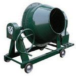 グリーンミキサ4切丸ハンドル車輪モーター付   NGM-4M15