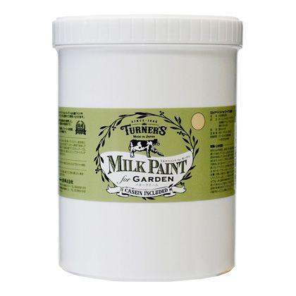 【新商品】 ミルクペイントforガーデン バタークリーム 1.2L MKG12312