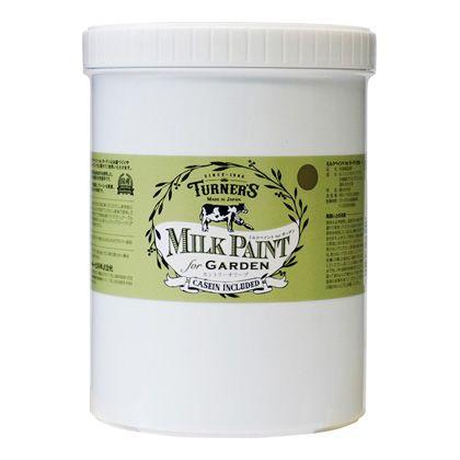 【新商品】 ミルクペイントforガーデン カントリーオリーブ 1.2L MKG12324