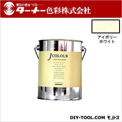 室内/壁紙塗料(水性塗料)Jカラー アイボリーホワイト 2L JC20WH6A