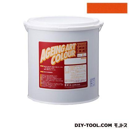 エイジングアートカラー屋内外特殊塗装用水性塗料 低臭ミディアムイエロー 20kg SJB20367