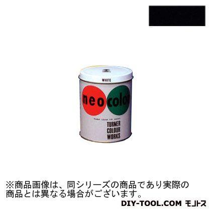 ネオカラー 短期 屋外用 絵具 黒 3L NC00331