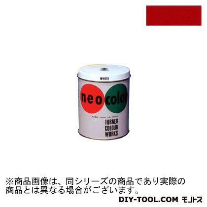 ネオカラー 短期 屋外用 絵具 赤 600ml NC60023