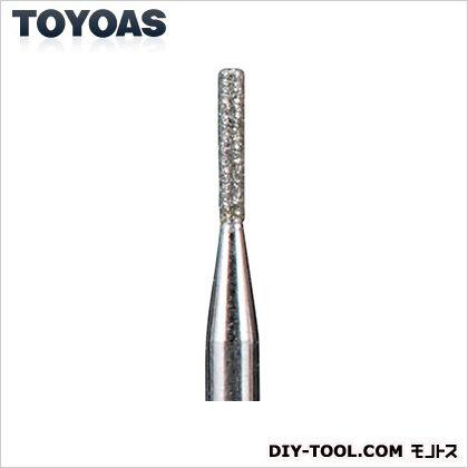 東洋アソシエイツ ダイヤモンドビット(G)円筒型 軸径3mm 27602