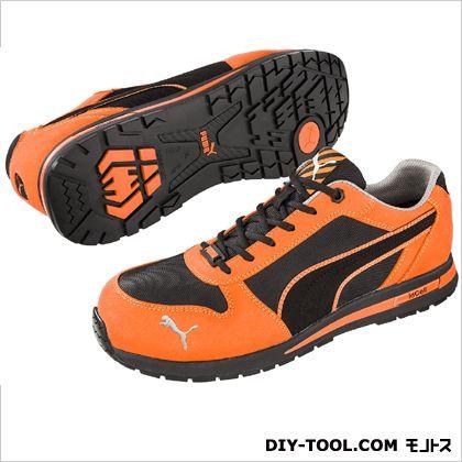 【送料無料】PUMA SAFETY エアツイスト・・ロー 作業用靴 オレンジ 26.0cm 64.323.0 0足