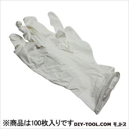 シンガー ニトリル手袋 粉付 白 S 100枚