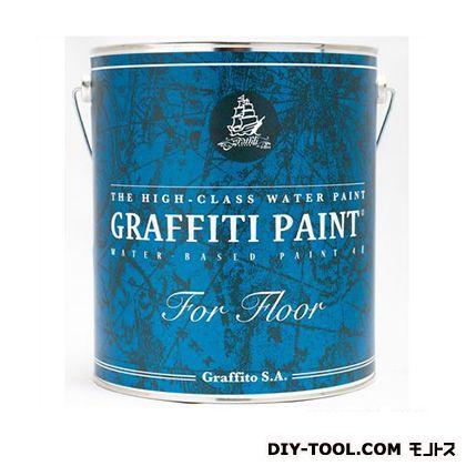 【送料無料】ビビットヴアン グラフィティーペイントフロア床用水性塗料 Freedom Wave 4L GFF-11 0
