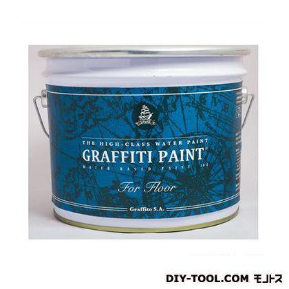 【送料無料】ビビットヴアン グラフィティーペイントフロア床用水性塗料 Black Beetle 4L GFF-35 0