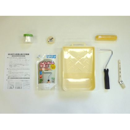 フジワラ化学 はじめての珪藻土スターターキット1坪用 ベージュ  1.5KG 6316300